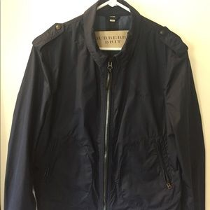 Mens Burberry Brit zip up jacket
